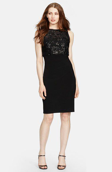 Check out my latest find from Nordstrom: http://shop.nordstrom.com/S/4071980  Lauren Ralph Lauren Lauren Ralph Lauren Sequin Jersey Dress (Regular & Petite)  - Sent from the Nordstrom app on my iPhone (Get it free on the App Store at http://itunes.apple.com/us/app/nordstrom/id474349412?ls=1&mt=8)