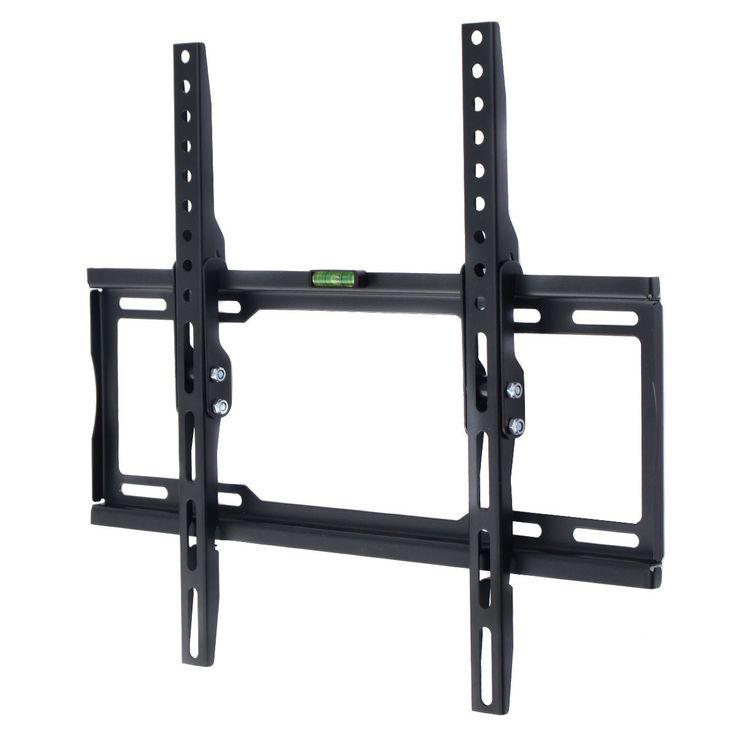 LCD LED Plasma Flat Tilt TV Wall Mount Bracket 26 32 37 40 42 46 47 50 52 55 60 0-12