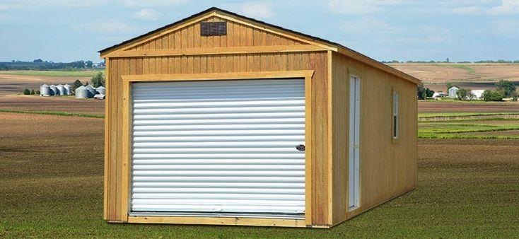 Prefab Garages - Standard Garages | Backyard Outfitters