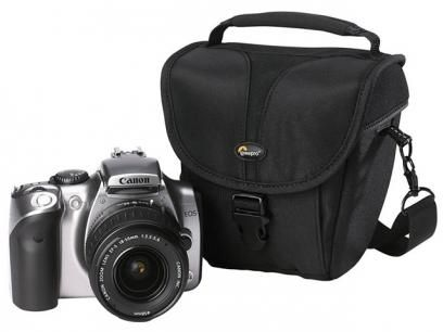 Bolsa para Câmera Lowepro - Rezo TLZ 20 com as melhores condições você encontra no Magazine Edisiosilvameira. Confira!