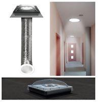 Tageslicht-Spot 350 Ø35cm für flache Dächer mit flexiblem Rohr Fakro SFF als TCF