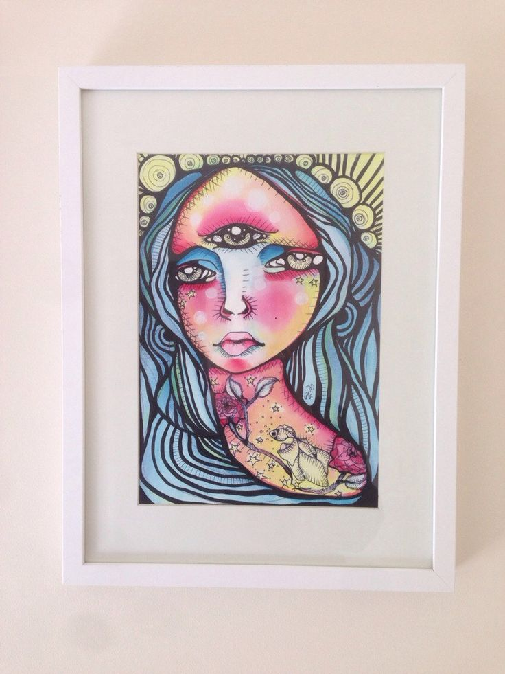 new listing in my Etsy shop!  Original watercolour & ink