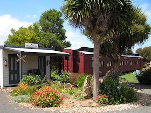 If you'd like to experience something a little different in your weekend away, then why not stay in an old railway carriage in Codrington Gardens in Port Fairy. This is a beautiful township on the Great Ocean Road just outside Melbourne and one not to be missed.
