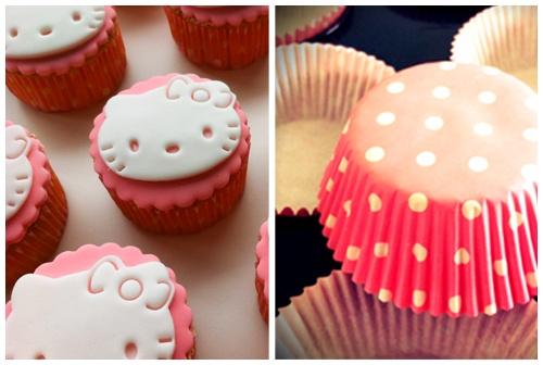 Bij een verjaardag kan eenverjaardagstraktatieniet ontbreken. Eenvoudige Hello Kitty cupcakes voor Patricia's verjaardag.De Hello Kitty uitsteker heb ik gekocht via www.taartenfantasie.nl. Ze kunnen ook dienen voor koekjes. Hopelijk blijft Kitty nog even in :-)    Sinaasappel cupcakes *Sinaasappelcrème au beurre * Suikerpasta topping