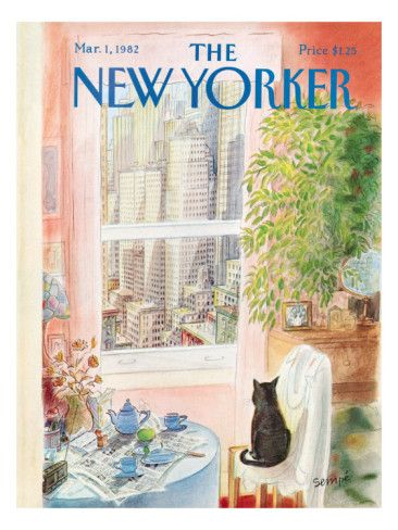 The New Yorker Cover - March 1, 1982 Poster Print by Jean-Jacques Sempé at the…