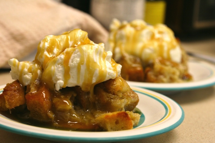 caramel banana bread pudding california cookbook caramel banana bread ...