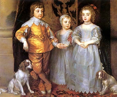 Children of Charles I and Henrietta Maria