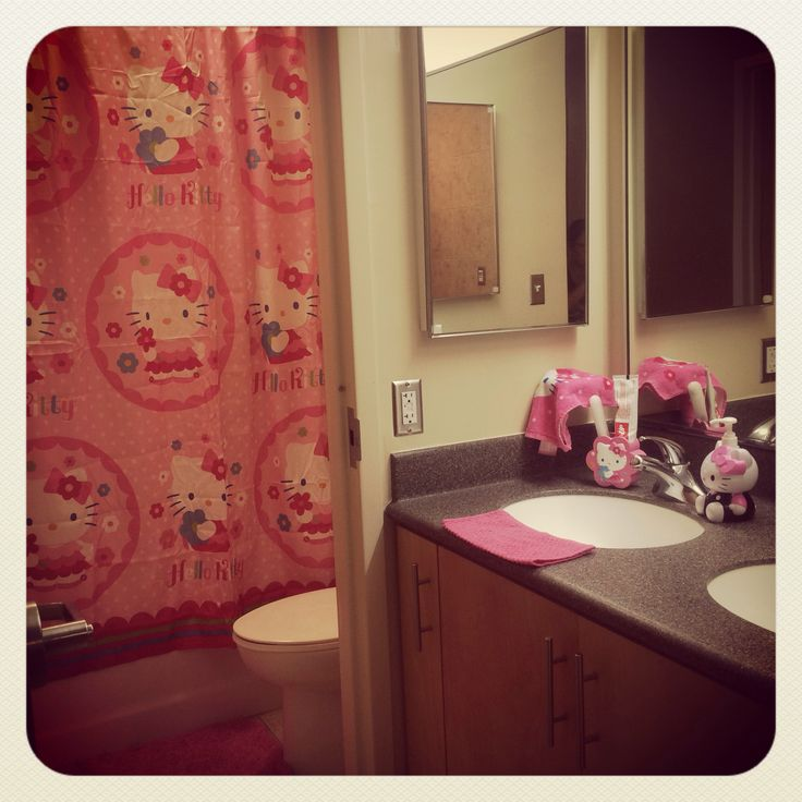 Hello Kitty Bathroom Decor Ideas : Best images about hello kitty bathroom on