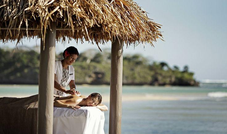 InterContinental Resort Fiji - 5 star $$$ - http://www.best10hotels.com/#!4-5-star-fiji-hotels-and-resorts/c1p14