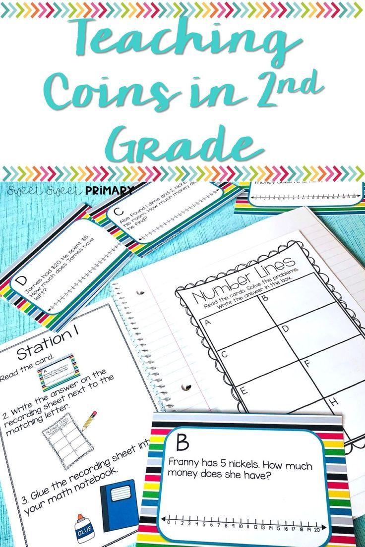 Teaching Coins in 2nd Grade | Pinterest | Fun math, Word problems ...