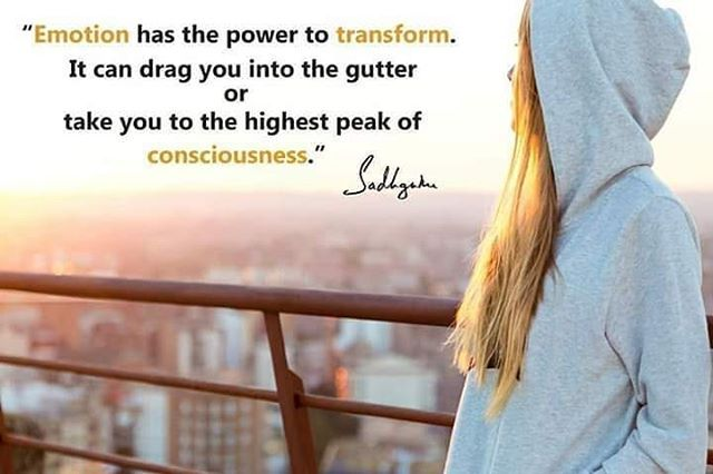 If You Use Your Mind To Transcend Your Limitations We Call This Gnana Yoga If You Use Your Emotion To Transcend L Isha Yoga Karma Yoga Kriya Yoga