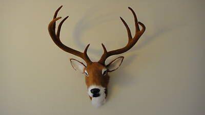 Deer Head Wall hanger Taxidermy Figurine Mount by Kadaland on Etsy