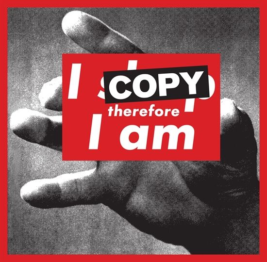 I copy therefore I am by SUPERFLEX