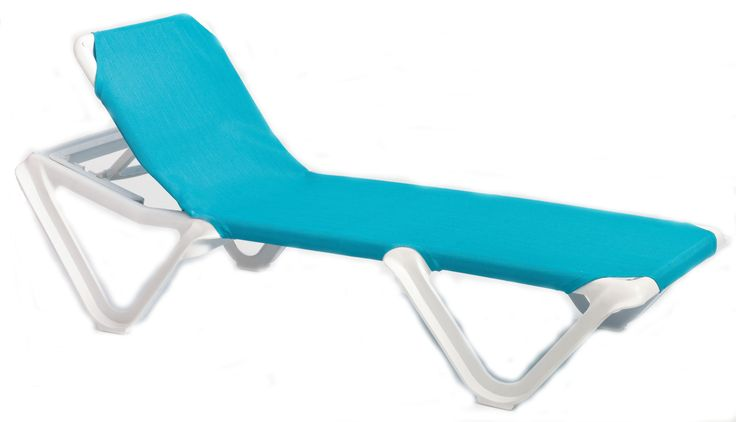 Stackable Pool Lounge Chairs