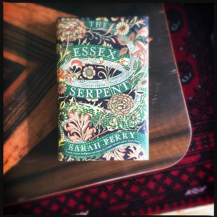 The Essex serpent by Sarah Perry. #historicalfiction #essexserpent #sarahperry #bookstagram #igreads