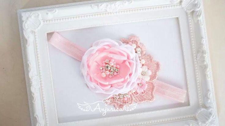 #diy #craft #singedflower #handmade #babyheadband #fabric #flower