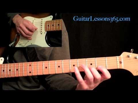 Ozzy Osbourne - Crazy Train Guitar Lesson Pt.2 - PreChorus & Chorus w/Fills - YouTube