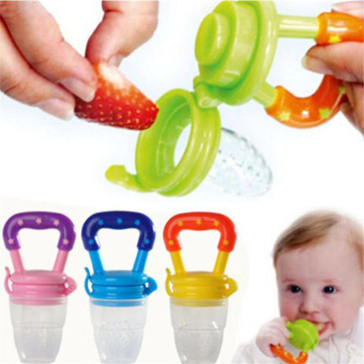 Soft Safety Silicone Baby food feeder Chew Pacifier