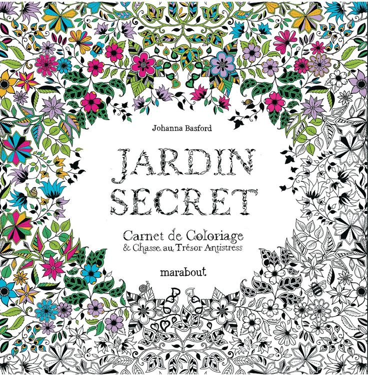 Amazon.fr - Jardin secret - Johanna Basford - Livres