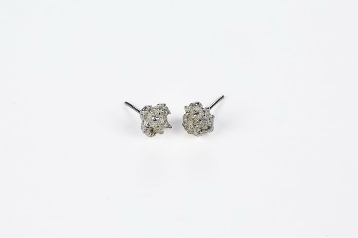 Sterling Roung Bunch Stud Earrings