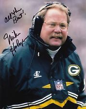 Mike Holmgren #0  8x10 Signed w/ COA Green Bay Packers 516117
