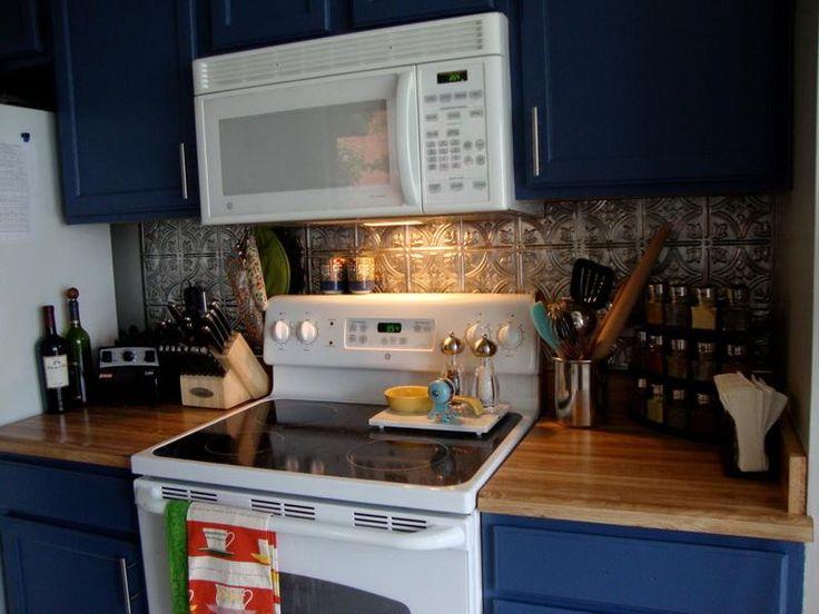 White Kitchens With Tin Back Splash Tin Kitchen Backsplash Ideas