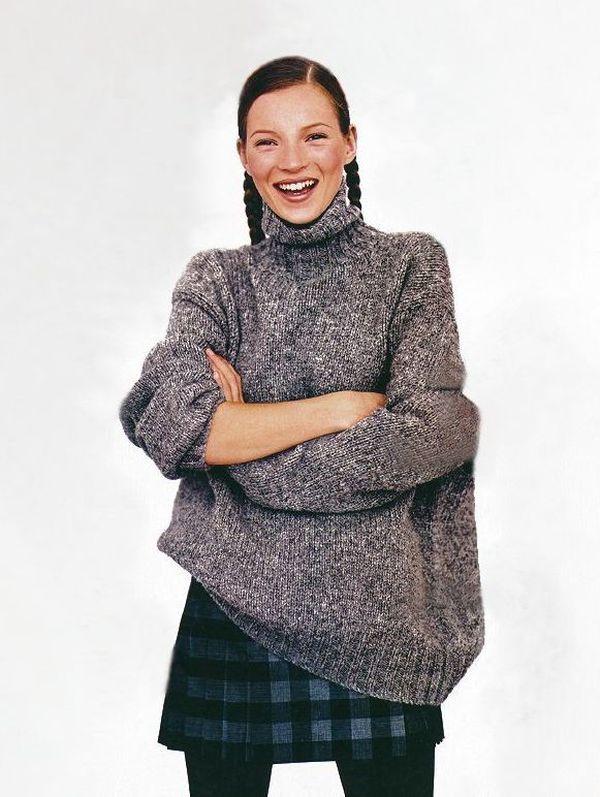 Kate Moss Mademoiselle Magazine 1993