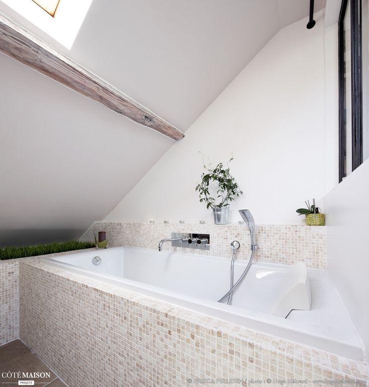 Rénovation d'un appart sous combles, Prisca Pellerin - Côté Maison