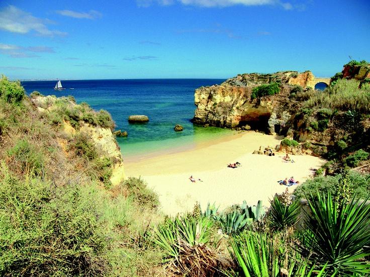 Praia da Luz in Portugal