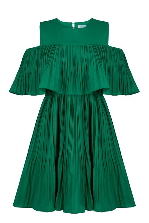 Can be worn as an off shoulder dress or a dress by itself with the sleeves hidden. Perfect with gladiator sandals and a blazer for a semi-formal look. Pair with trainers for a more casual look.