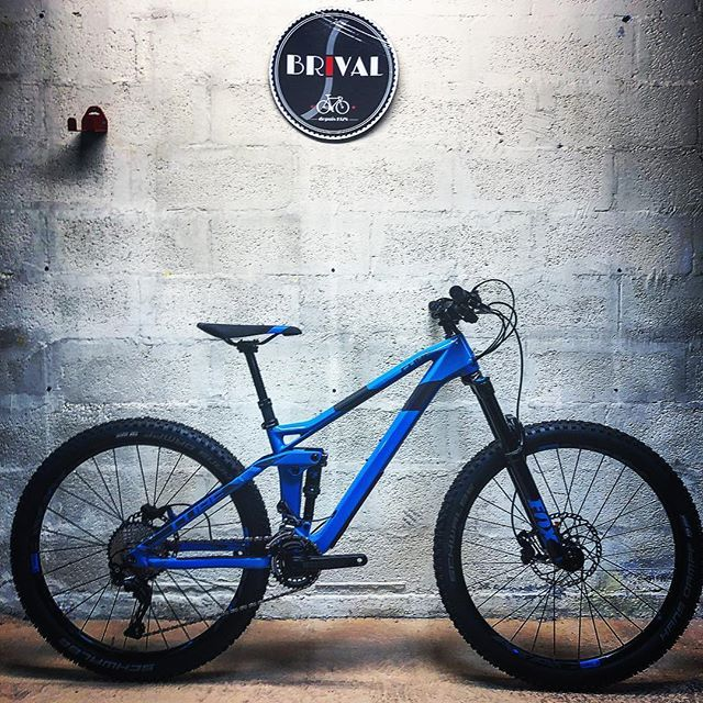 Cube Stereo 140 Hpc Race 2018 Cadre Carbone Velobrival