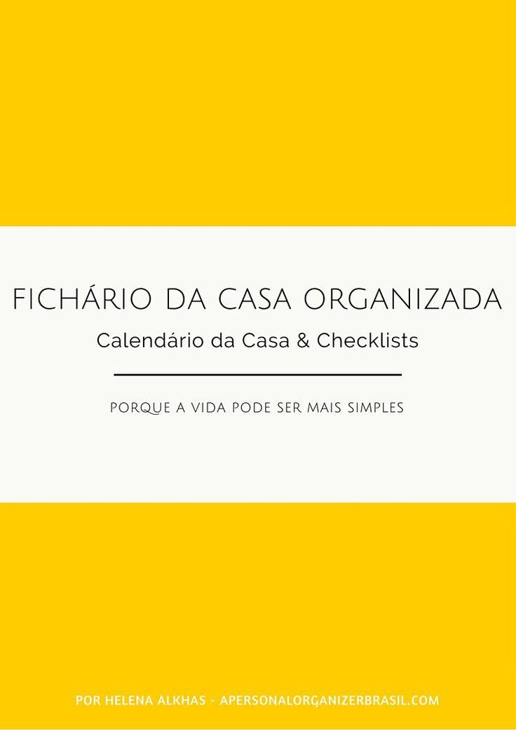 checklists de organização