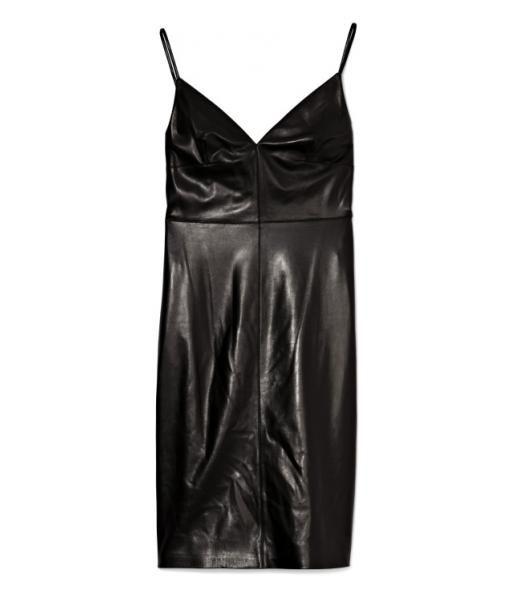 Leather Camisole Strap Dress  #Matchesfashion
