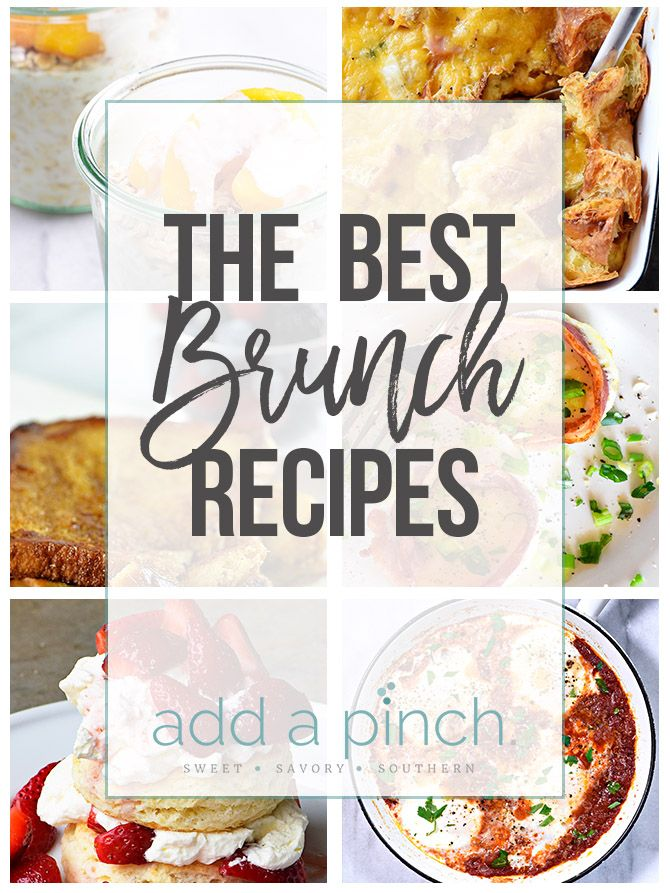 The Best Brunch Recipes A Collection Of The Best Brunch Recipes
