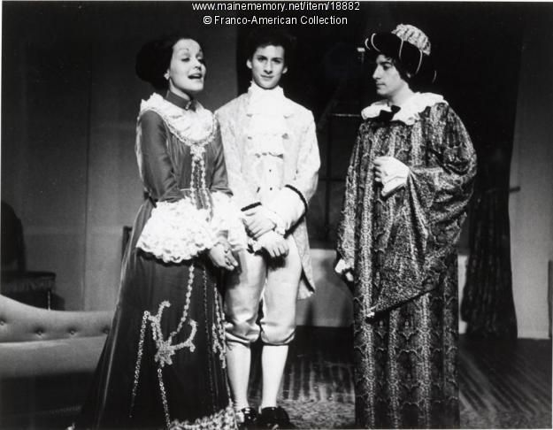 St. Dominic High School theater production, Lewiston, 1978. Item # 18882 on Maine Memory Network