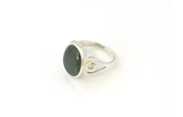 Paua World - Sterling Silver and Greenstone Ring, $125.00 (http://www.pauaworld.com/sterling-silver-and-greenstone-ring/)