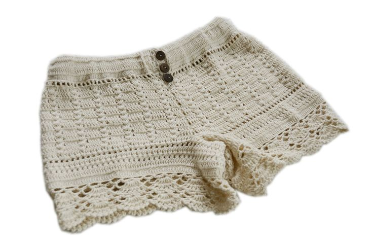 Crochet shorts-Free Patterns and Instructions