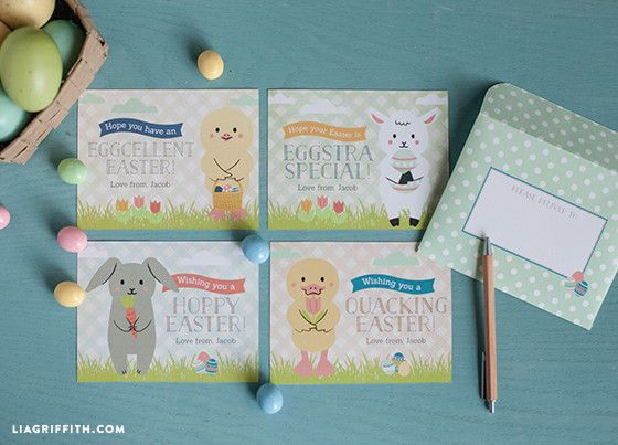 Kid's Easter Cards to Download and Print