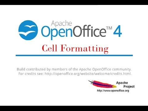 This is the second part to our tutorials on cell formatting in Open Office Calc.