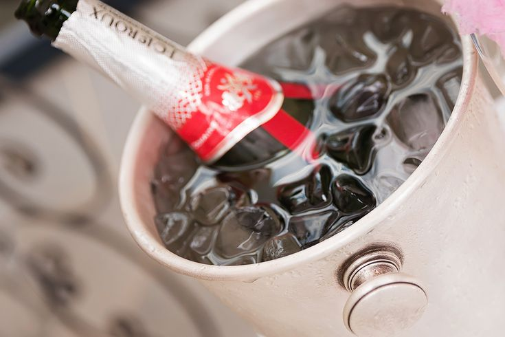 #SparklingWine #JCLeRoux #Ice #WelcomeDrink