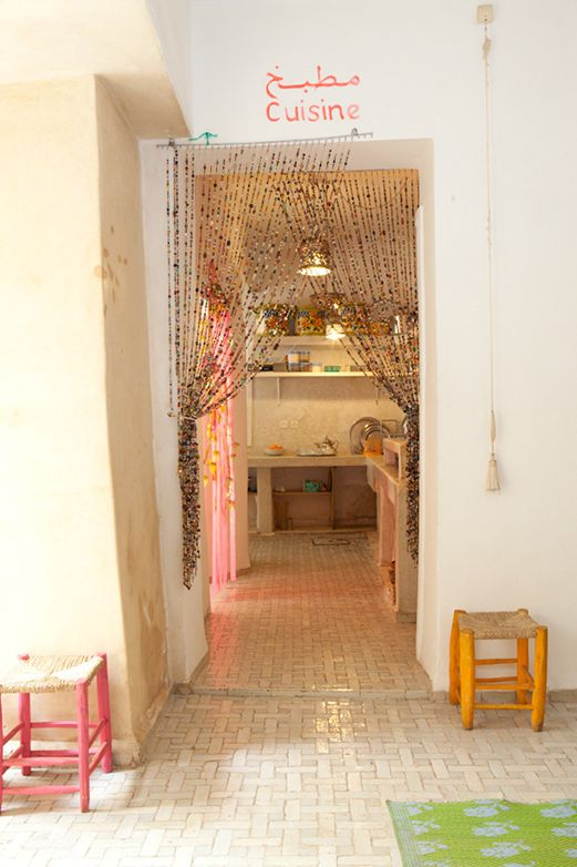 www.chambresdamis.com Holder hekle workshops i Marokko