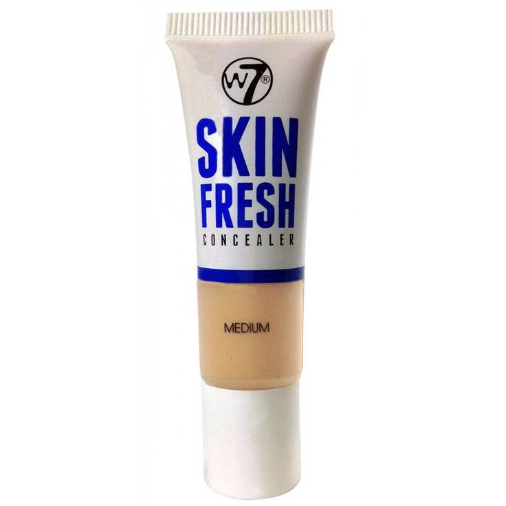Καλύψτε άμεσα σημάδια, ατέλειες και μαύρους κύκλους με το W7 Skin Fresh Concealer!Η κρεμώδης σύστασή του το κάνει εύκολο στην εφαρμογή και υπόσχεται ένα θαύμα για το πρόσωπό σας.