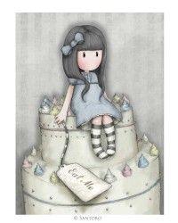 Gorjuss Cards - Sweet Cake
