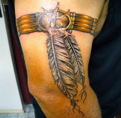 Native American Feather Tattoo Meanings | Feather Tattoo Designs For Men With Names