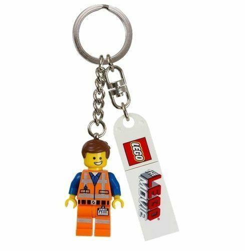 LEGO 850894 EMMET from The LEGO Movie Keychain Key Chain Minifigure NEW Genuine