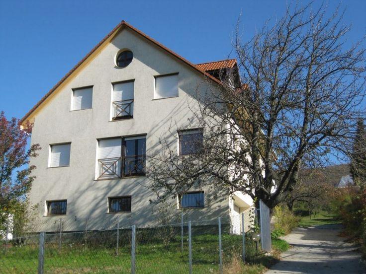Pilisszántó belterületén eladó egy 1996-ban épült 310 m2 alapterületű családi ház 2800 m2-es telken.  A ház tökéletes kivitelezés eredménye, kiváló anyagokból megépítve. Tömege brutális mivel legvékonyabb fala 60cm, legvastagabb 80cm. 2004-ben 10 cm-es szigetelést kapott, valamint a fűtés korszerűsítve lett egy kondenzációs kazánnal. Ezáltal a fűtési költség nem haladja meg a havi 10. 000,-ft-ot, aminek a költségét még az új cserépkályha is mérsékli.  Nyílászárói korszerű bukónyíló…