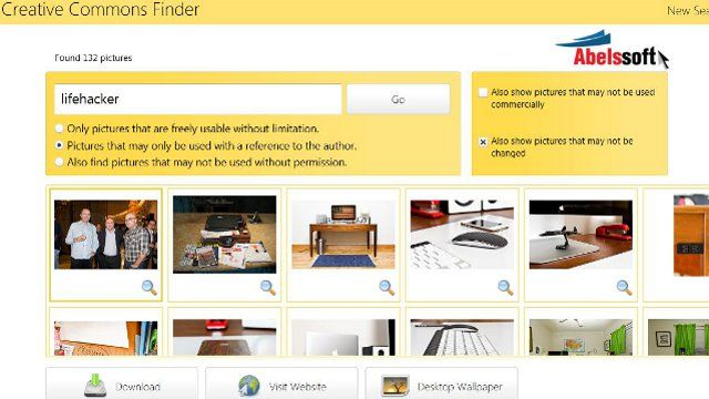 CCFinder Simplifies Creative Commons Image Searches