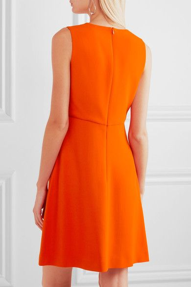 Stella McCartney - Stretch-cady Mini Dress - Orange - IT48