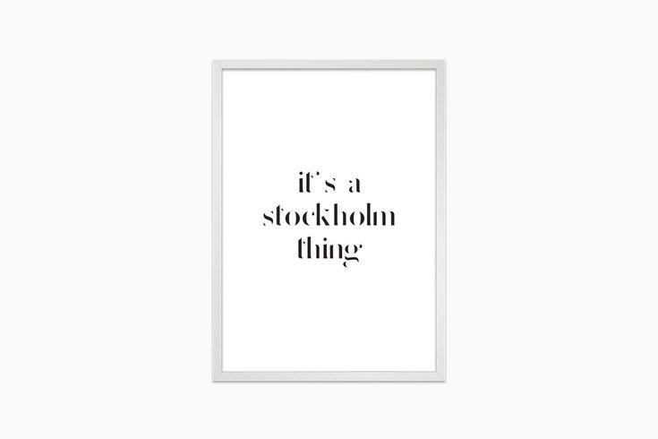 Korpulent - Premium posters, tavlor, affischer online |   It's a Stockholm thing