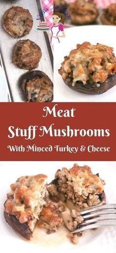 These meat stuffed m These meat stuffed mushrooms make excellent appetizers for any fancy dinner or celebration table such as Thanksgiving or Christmas. In fact they are so pretty on their own with the melted cheese on top; they need nothing to make them pretty. The juices from the meat nestle inside the cap and keep them juice that its difficult to have just one. via Veena Azmanov Recipe : http://ift.tt/1hGiZgA And @ItsNutella  http://ift.tt/2v8iUYW  These meat stuffed m These meat stuffed…